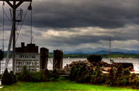Ferry Landing on Lake Champlain at Charlotte, VT